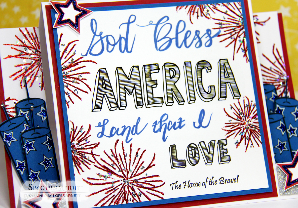 stamp scents  god bless america