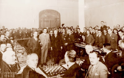Reti en Barcelona en 1927
