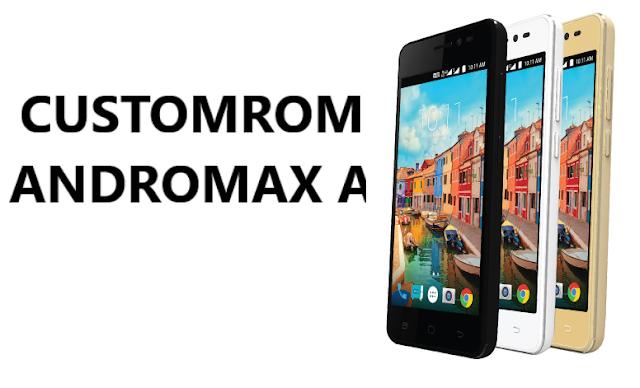 Kumupulan Custom ROM Andromax A A16C3H dan Cara Instalnya