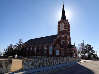 Sacred Heart of Mary Church in Windthorst, Kansas