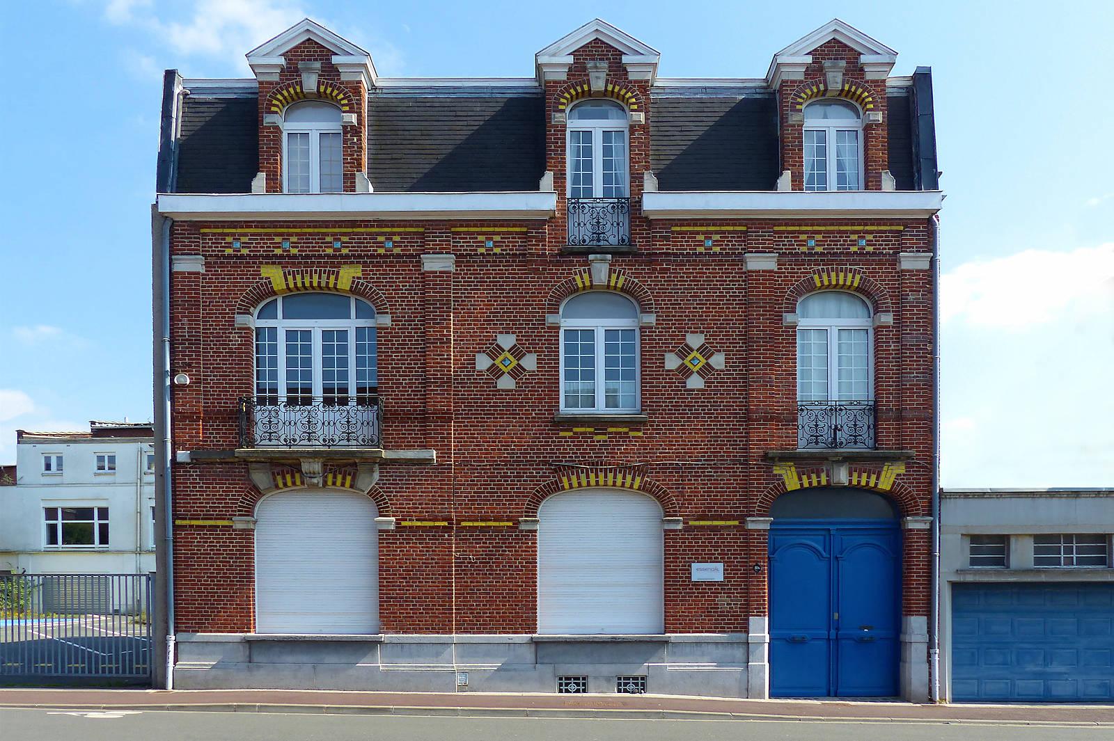Maison de la rue des Ursulines à Tourcoing