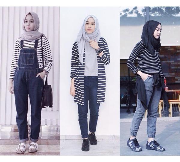 outstanding outfit hijab untuk nonton konser streaming