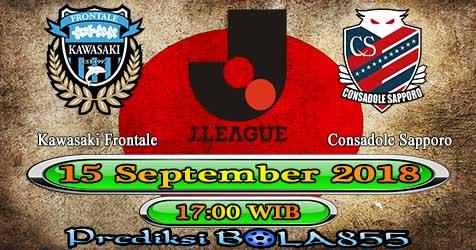 Prediksi Bola855 Kawasaki Frontale vs Consadole Sapporo 15 September 2018