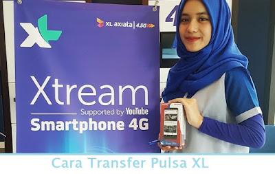 Cara Transfer Pulsa XL (Termudah.com)