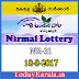 Nirmal Lottery NR-31 Results 18-8-2017