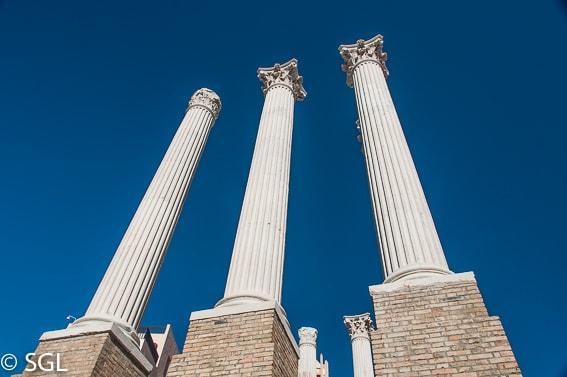 Templo romano. Recorrido fotografico por Cordoba