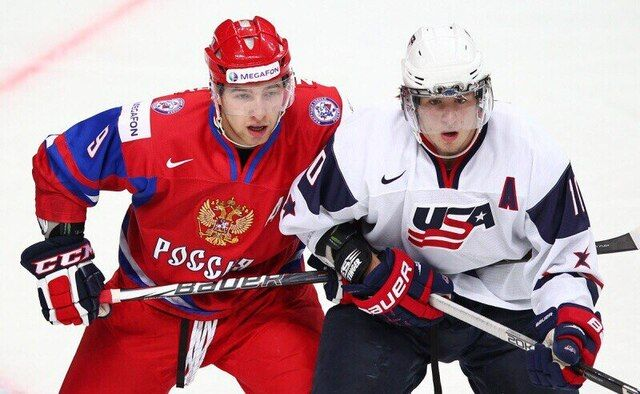 Хоккей: МЧМ 2020. Россия – США (29 декабря 2019) смотреть онлайн. Прямая трансляция