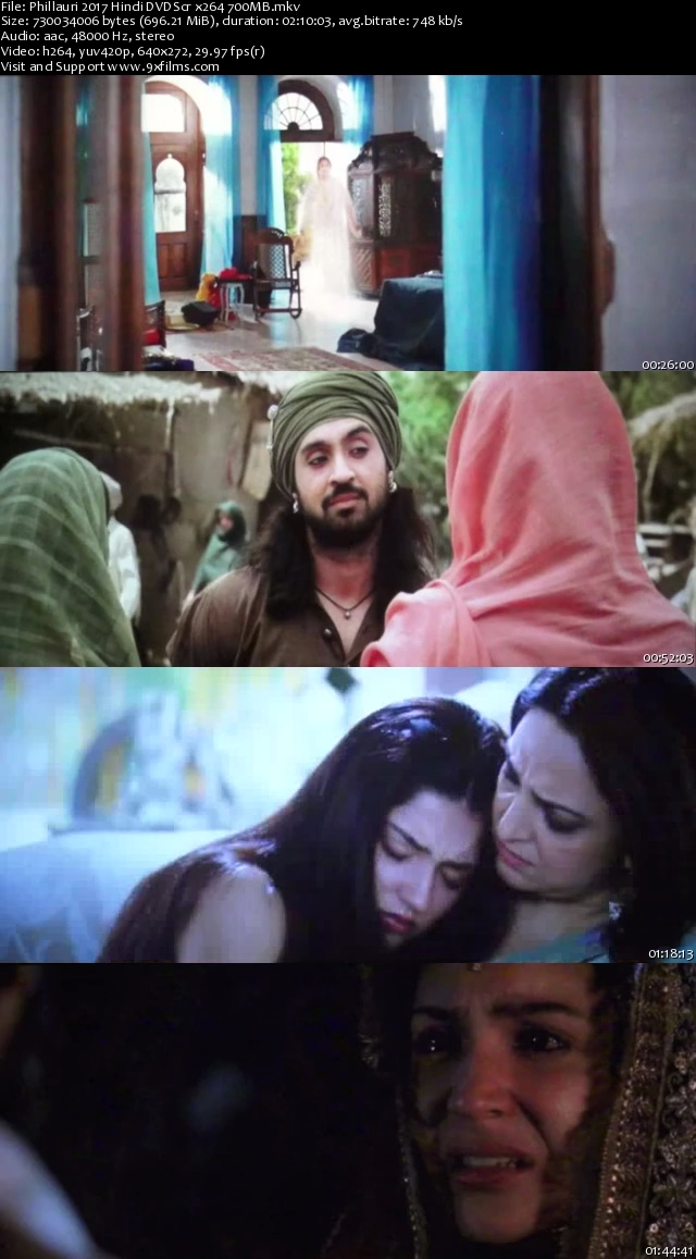 Phillauri 2017 DVDScr Hindi 700MB