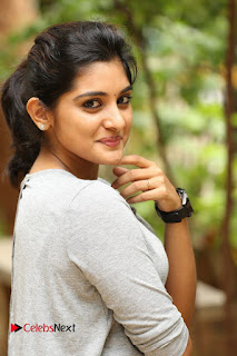 Actress Niveda Thomas Pictures in Black Jeans at Gentleman Movie Interview  0060.JPG