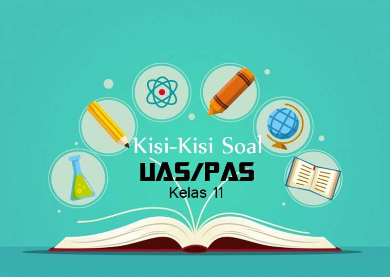 Kisi-Kisi Soal PAS Bahasa Indonesia Kelas xi