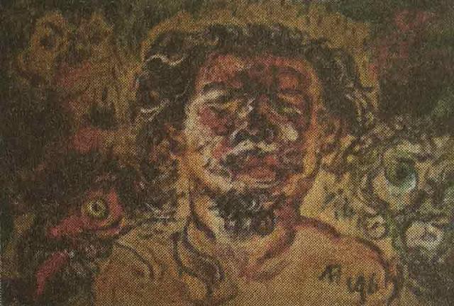 lukisan-affandi-potret-diri-dan-topeng-kehidupan