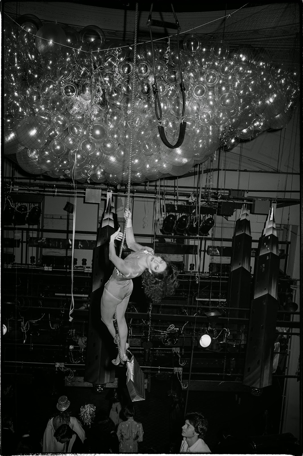 ELIZABETH AVEDON JOURNAL: TOD PAPAGEORGE: Studio 54, 1978-1980