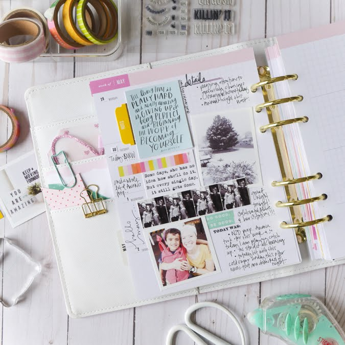 Tips For Catching Up With Your Planner by Jamie Pate | @jamiepate
