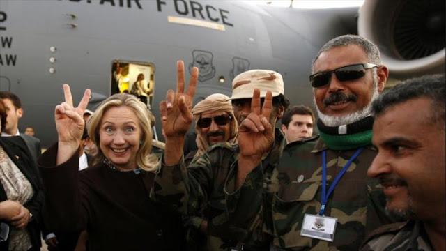 """El Ejército de EEUU presenta a Clinton como """"amenaza interna"""""""