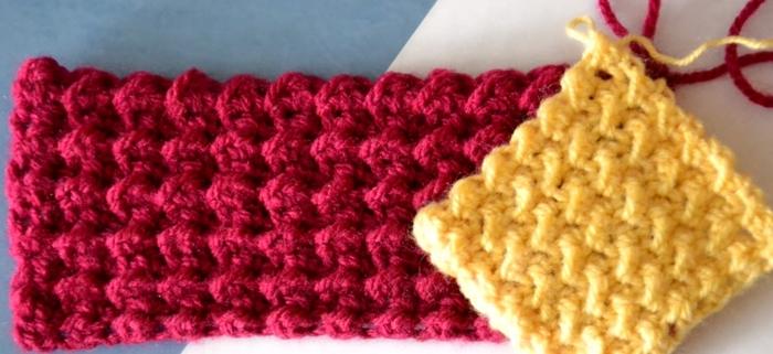 мастера и умники плотный узор крючком для вязания коврика