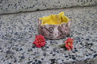 сувенир от въздушна глина