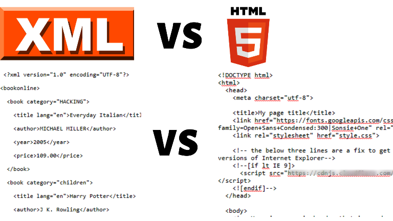 Why Bloggers Need To Know About Xml Vs Html