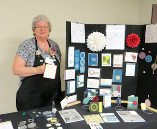 Linda Yearsley & Eastern Elegance Projects at Vacation Stamping School 2017