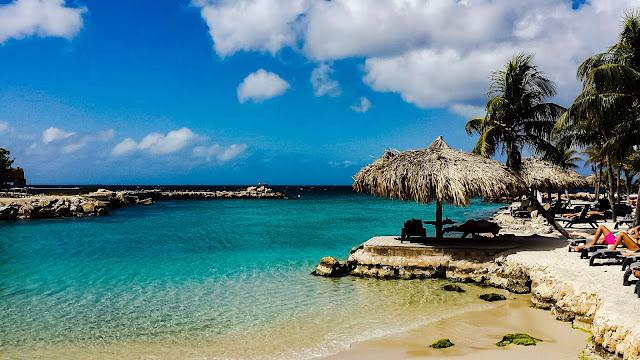 Curaçao, praia do hotel Lions Dive