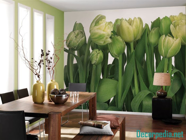 New 3D wallpaper murals and designs for kitchen 2019