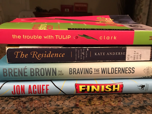 January Book Stack