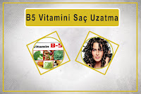 B5 Vitamini Saç Uzatma