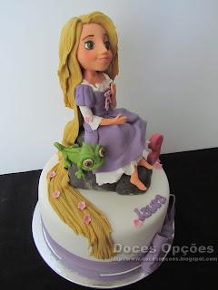 bolo Rapunzel bragança