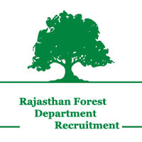 Rajasthan, Forest Department, 10th, Forest Guard, freejobalert, Latest Jobs, Hot Jobs, rajasthan forest department logo