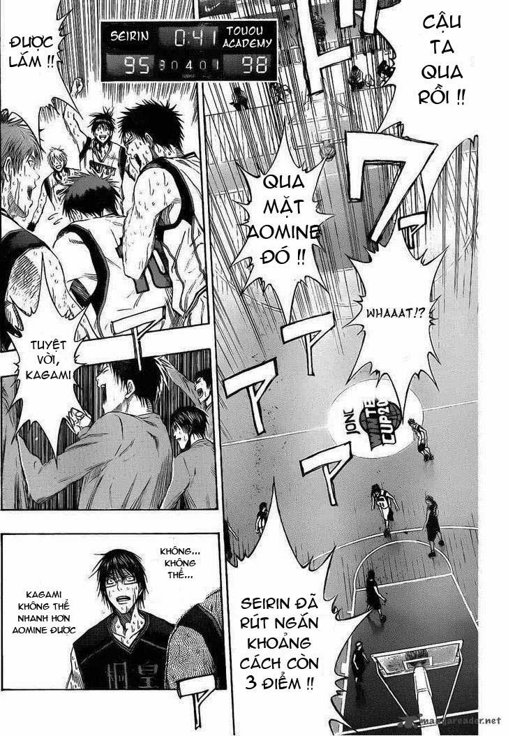 Kuroko No Basket chap 136 trang 10