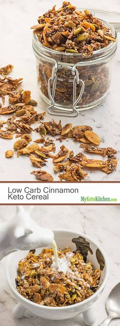 Keto Cereal - Breakfast Crunch - Sugar Free & Gluten Free!