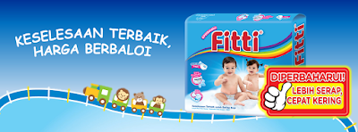 Fitti Malaysia Baby Diaper Free Sample Giveaway
