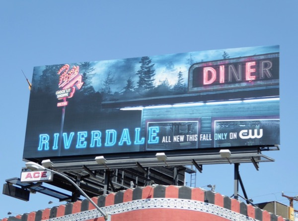 Riverdale season 2 teaser billboard