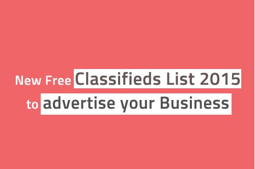 Top 100+ Free Global Classifieds Sites List 2019 | 200+ Best High PR