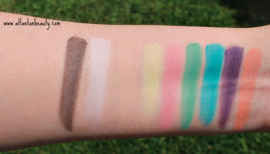 Kokie Cosmetics Rainbow Riot Eyeshadow Palette