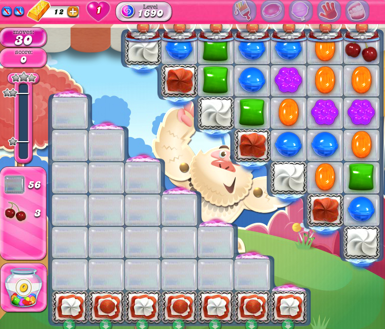 Candy Crush Saga 1690