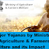 Major Yojanas or Reforms by Ministry of Agriculture & Farmers Welfare and its Possible Impact