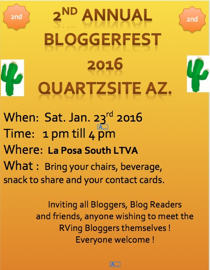 2nd Annual Blogger - Fest