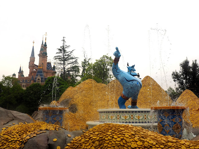 Aladdin in the Voyage to the Crystal Grotto, Shanghai Disneyland, China