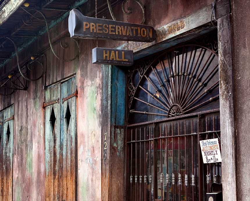Haunted Nation Preservation Hall New Orleans La The