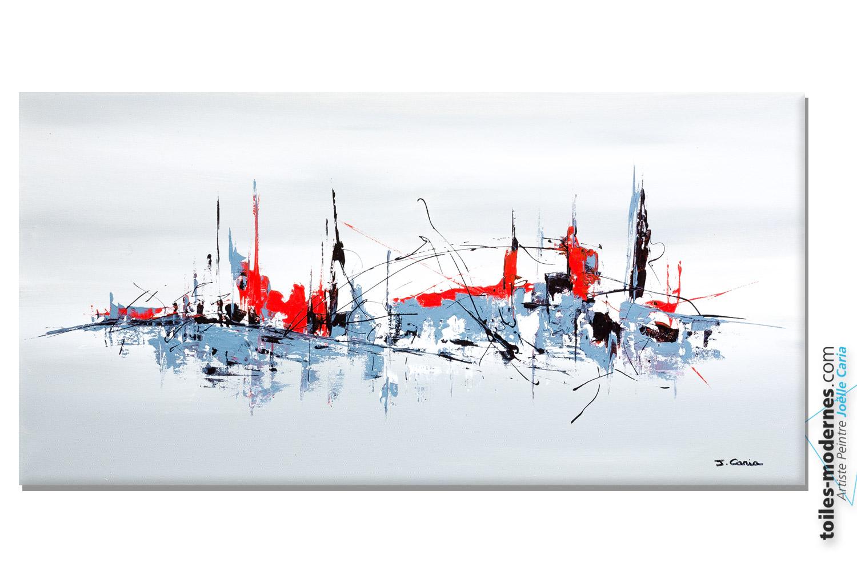 Jo lle caria artiste peintre toiles tableaux modernes contempor - Toiles modernes design ...