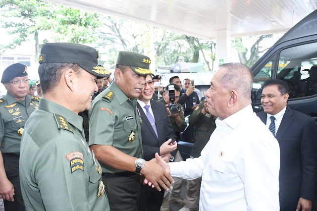 Kasum TNI Hadiri Penandatanganan Kontrak Pengadaan Alutsista