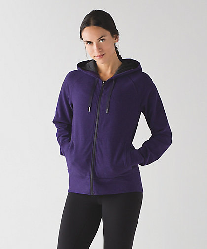 lululemon split-hoodie black-grape