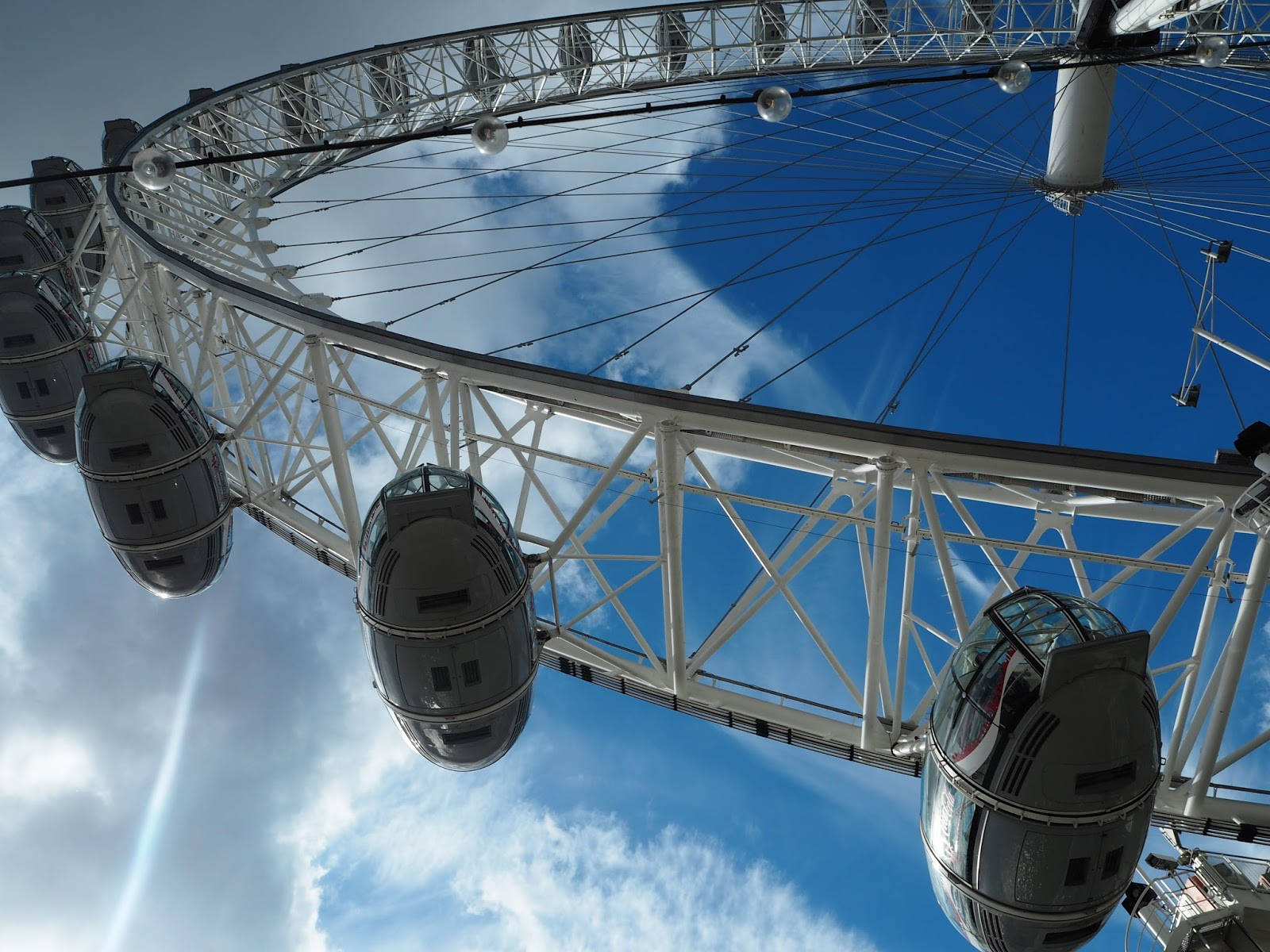 The London Eye, pods