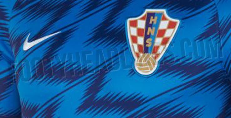 4b99fcb3e Nike Croatia 2018 World Cup Pre-Match Jersey Leaked - Footy Headlines