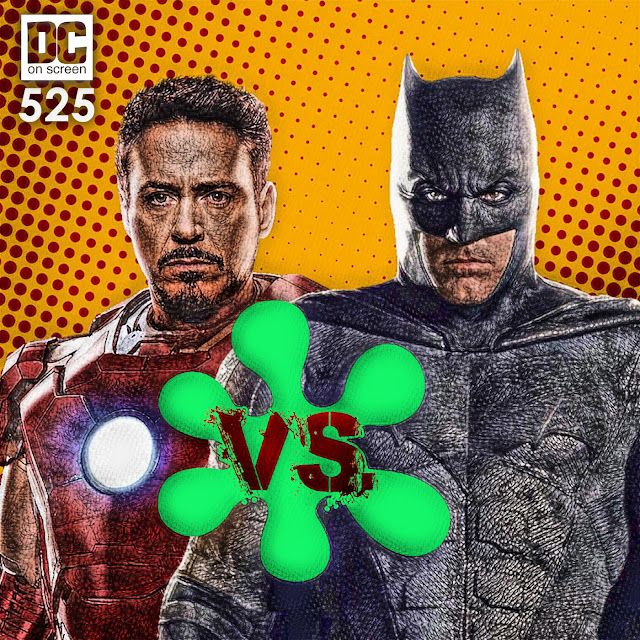 Iron Man and Batman bonded in numerical combat with Rotten Tomatoes.