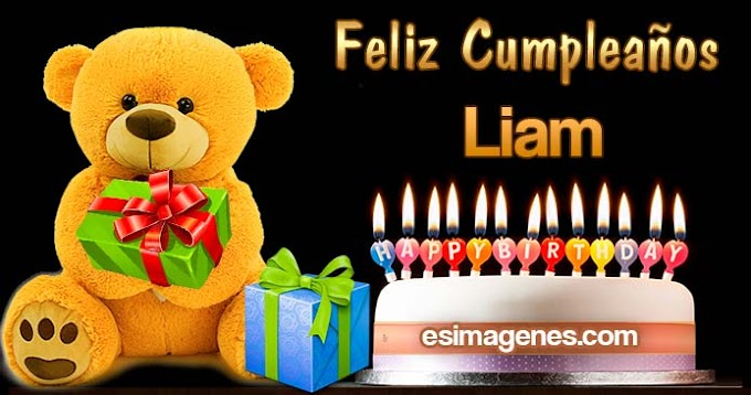 Feliz Cumpleaños Liam