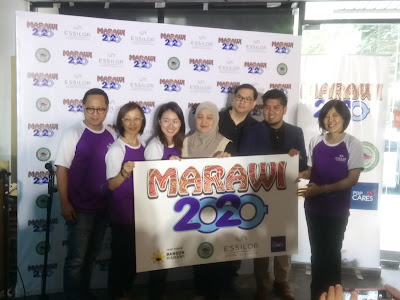 Marawi 20-20, the advocacy campaign of Essilor Vision Foundation