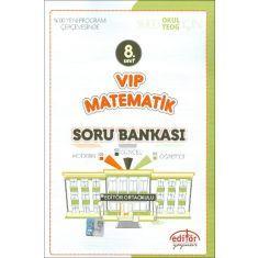 Editör 8.Sınıf VIP Matematik Soru Bankası (2017)