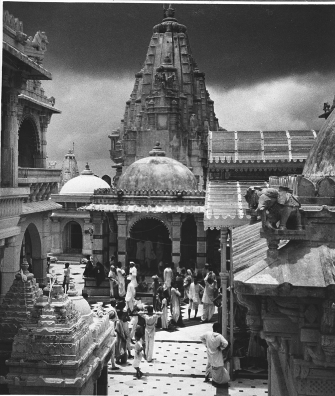 Group of Jain Temples at Palitana on top of the Satrunjaya Mountain Gujarat - 1949