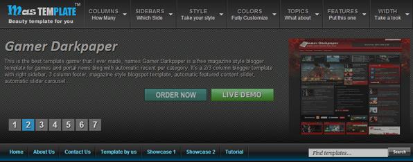 mas blogger template